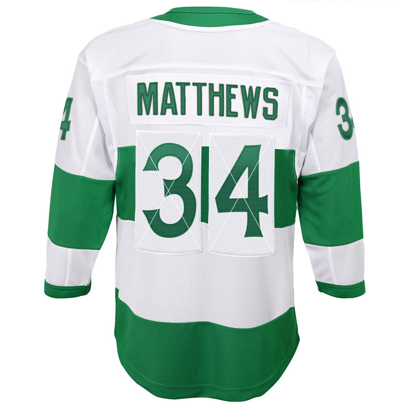 quality design 7dabc 3fab4 Auston Matthews Toronto Maple Leafs St. Pats Youth Alternate Replica Jersey