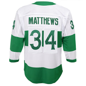 Auston Matthews Toronto Maple Leafs St. Pats Youth Alternate Replica Jersey