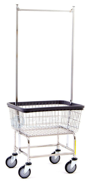 R&B Wire Laundry Cart 100 E 58