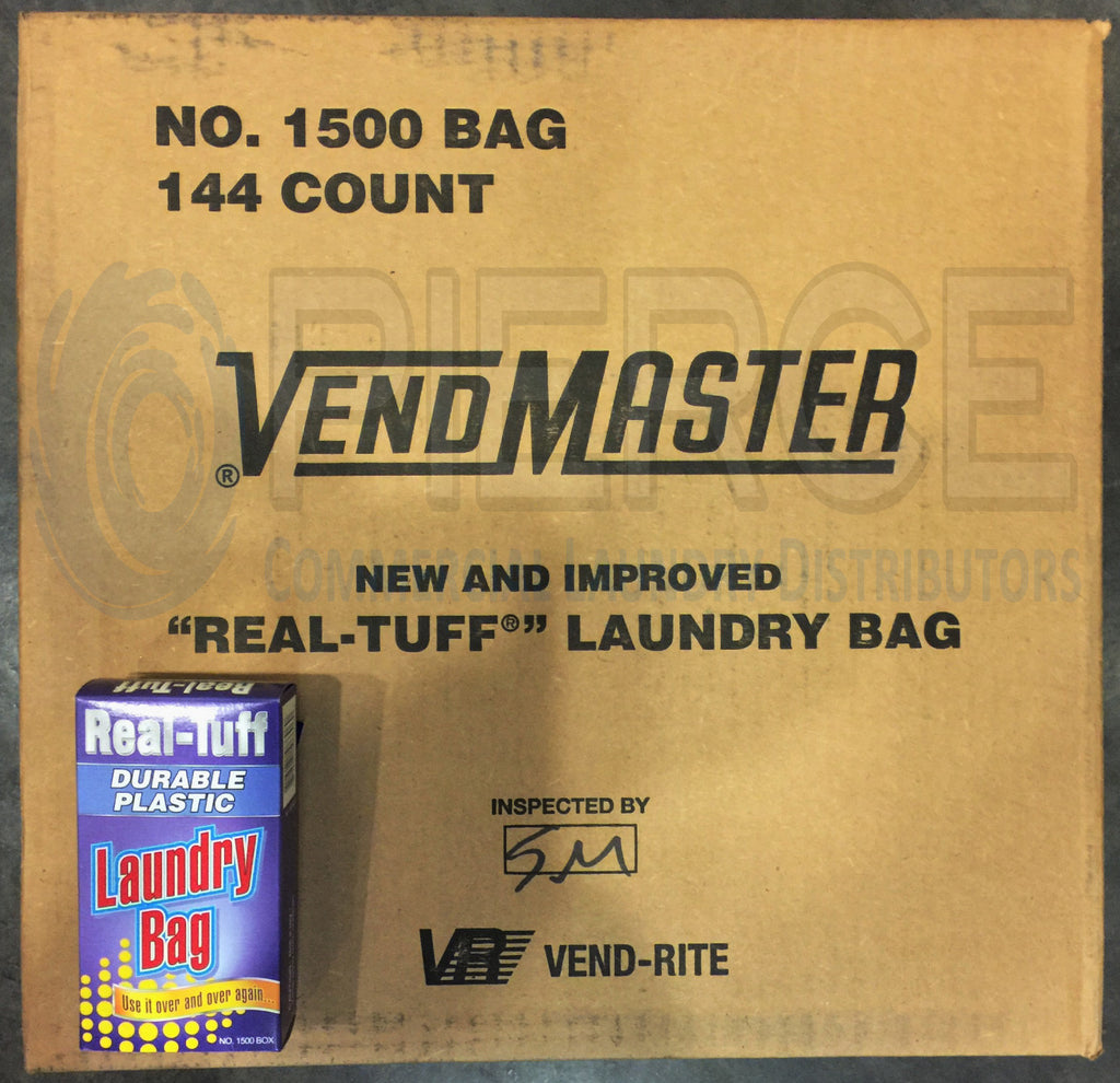 Vend-Rite REAL-TUFF 50¢ Laundry Bag A-1500