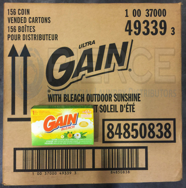 Gain® with Bleach Laundry Detergent Coin Vend