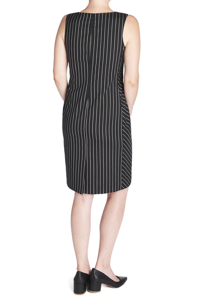 THE PINSTRIPE SHEATH DRESS