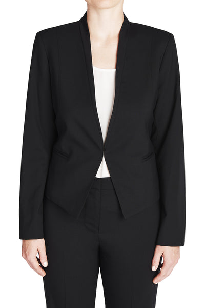 THE NO-COLLAR BLAZER