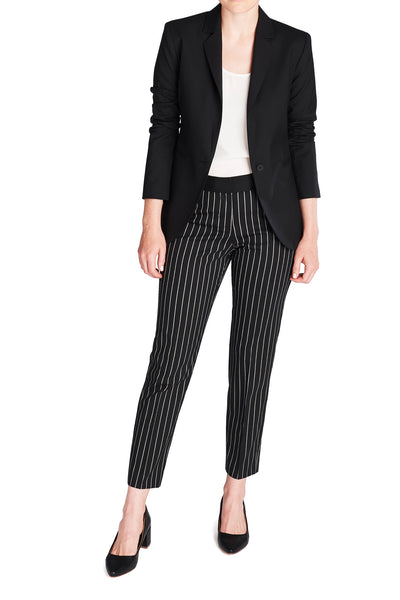 THE PINSTRIPE PENCIL PANT