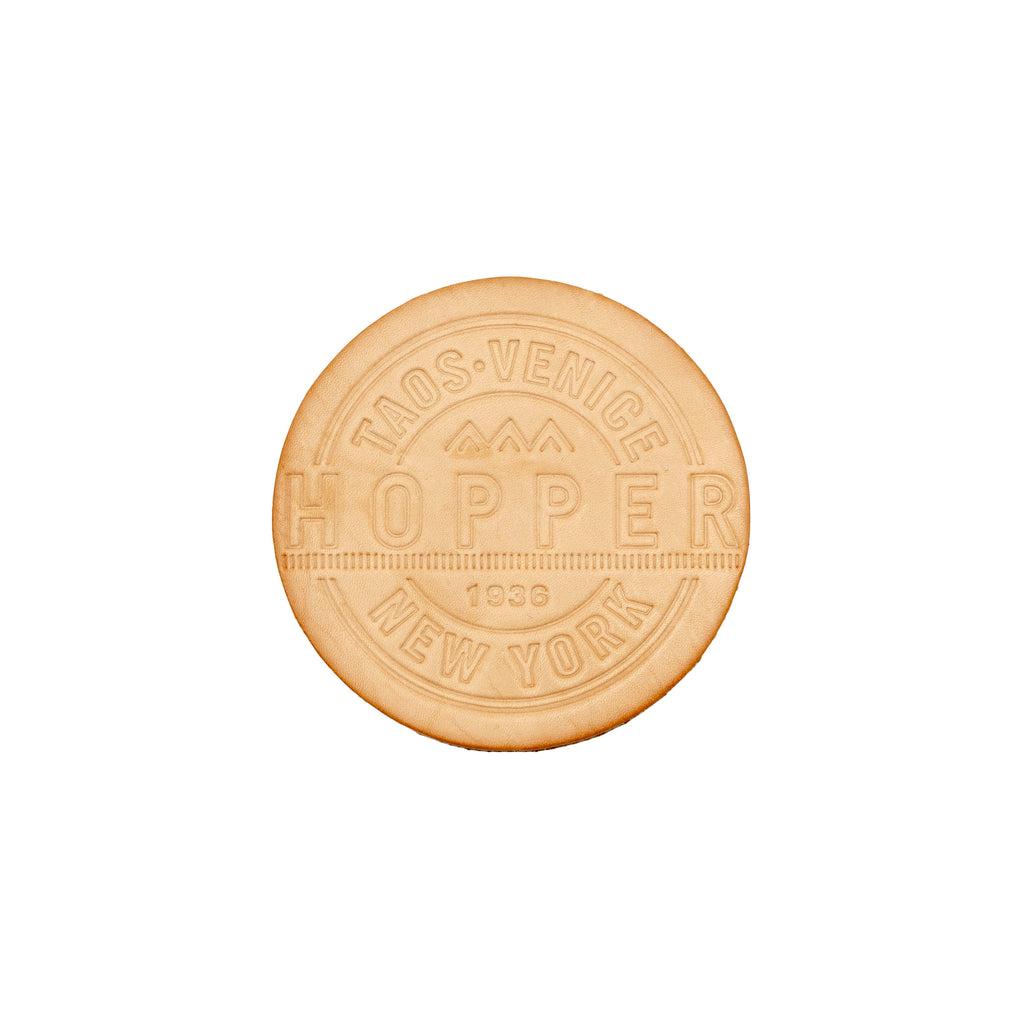 Hopper Veg Tan Coaster