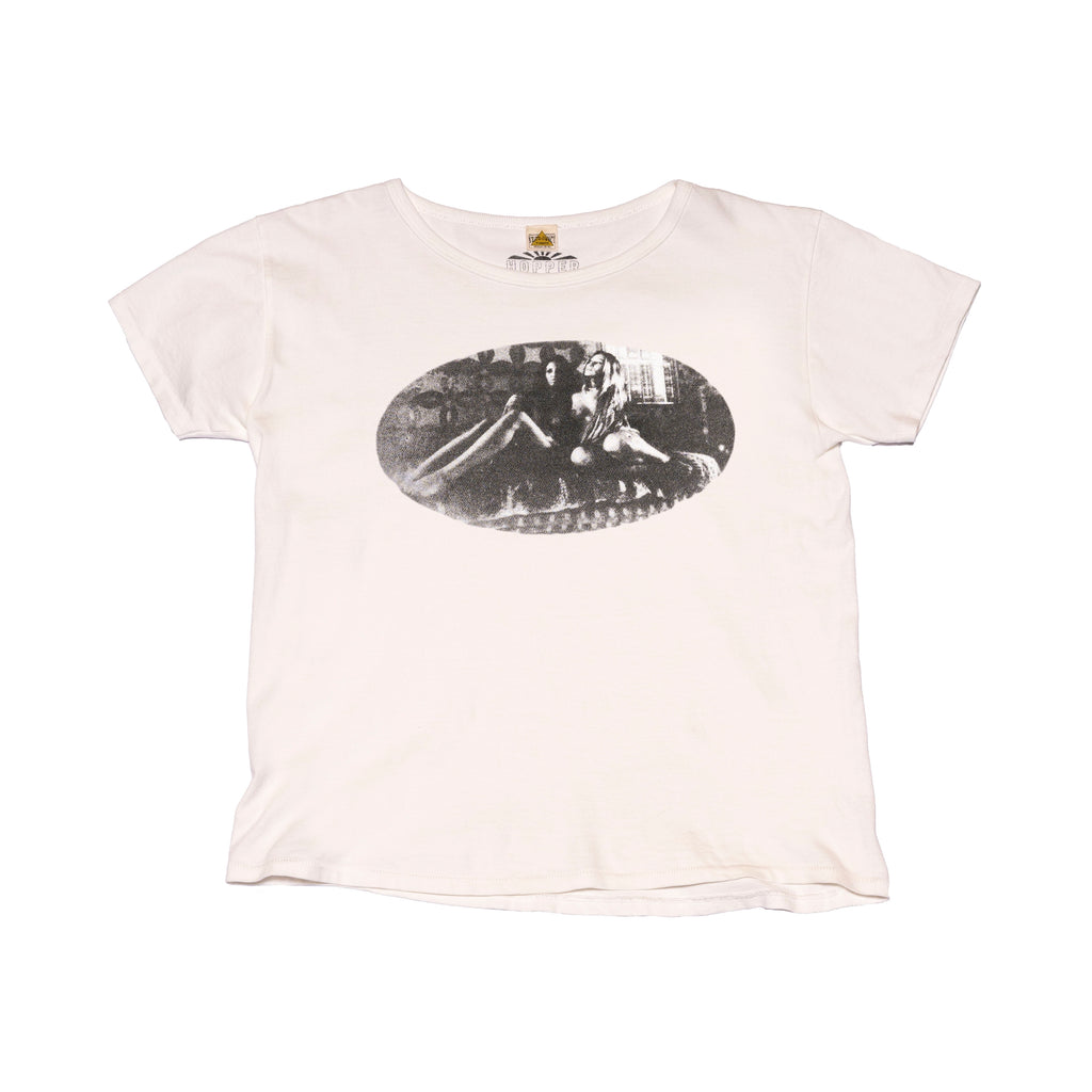 Naked Lady Tee Shirt B/W