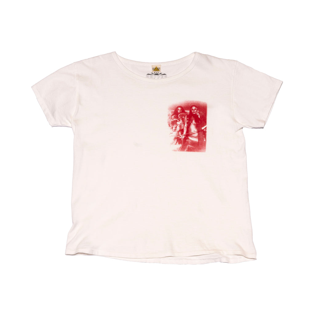 Naked Lady Tee Shirt Red