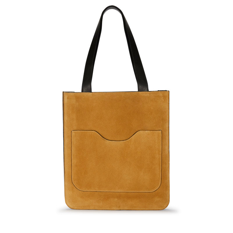Hell to Texas Small Tote in Tan Suede