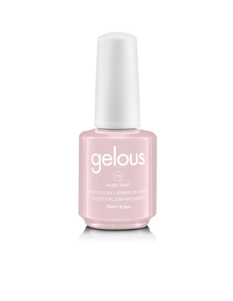 GELOUS VINYL POLISH #75 FAIRY DUST 15ML - NAILS ETC