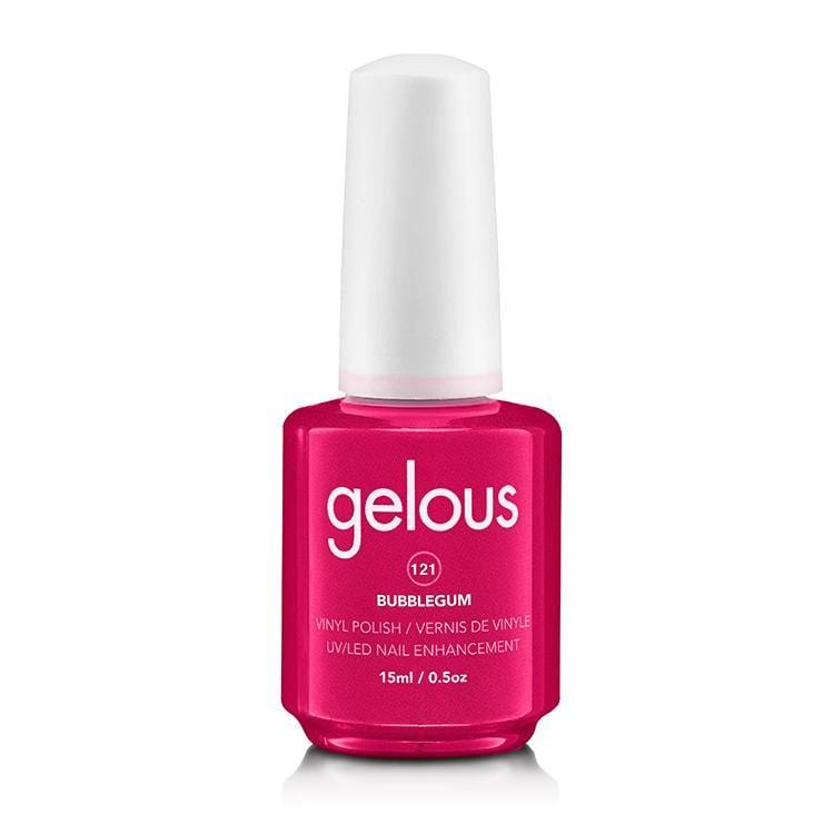 Gelous Vinyl Polish #121 Bubblegum 15ml/0.5 Oz