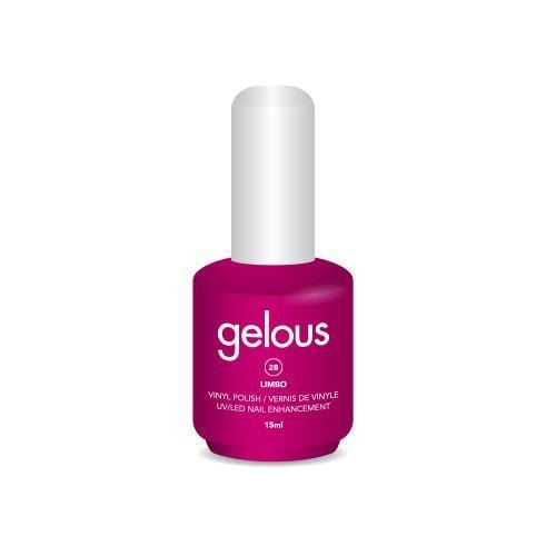 GELOUS VINYL POLISH # 28 LIMBO 15ML - NAILS ETC