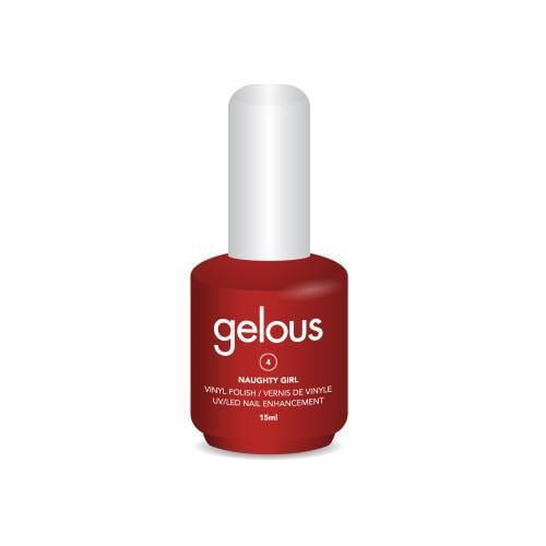 GELOUS VINYL POLISH # 4 NAUGHTY GIRL 15ML - NAILS ETC