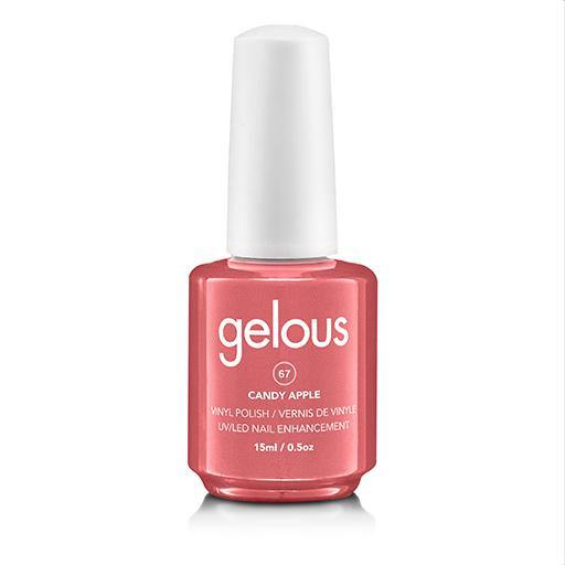 GELOUS VINYL POLISH # 67 CANDY APPLE 15ML - NAILS ETC