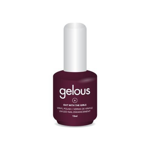 GELOUS VINYL POLISH # 6 OUT WITH THE GIRLS 15ML - NAILS ETC