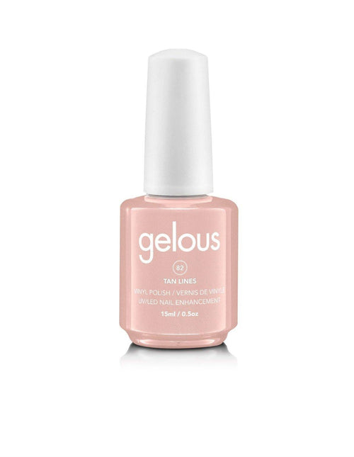 GELOUS VINYL POLISH #82 TAN LINES 15ML - NAILS ETC