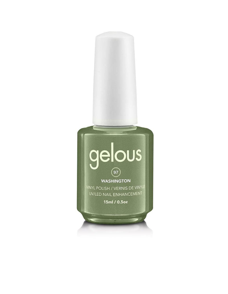 GELOUS VINYL POLISH #97 WASHINGTON 15ML - NAILS ETC
