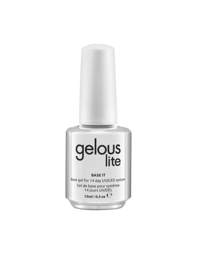 GELOUS LITE BASE IT 15 ml / .5 oz - NAILS ETC