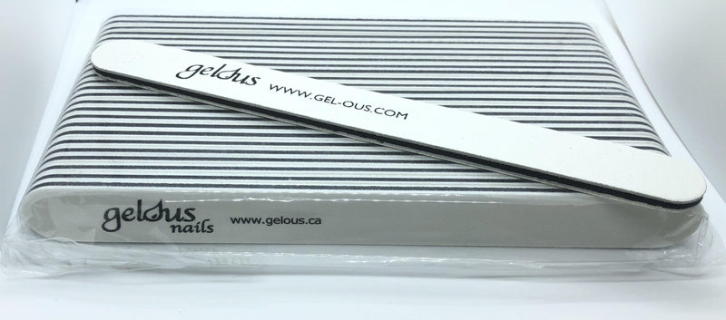 STANDARD QUALITY 180/180 STRAIGHT NAIL FILES