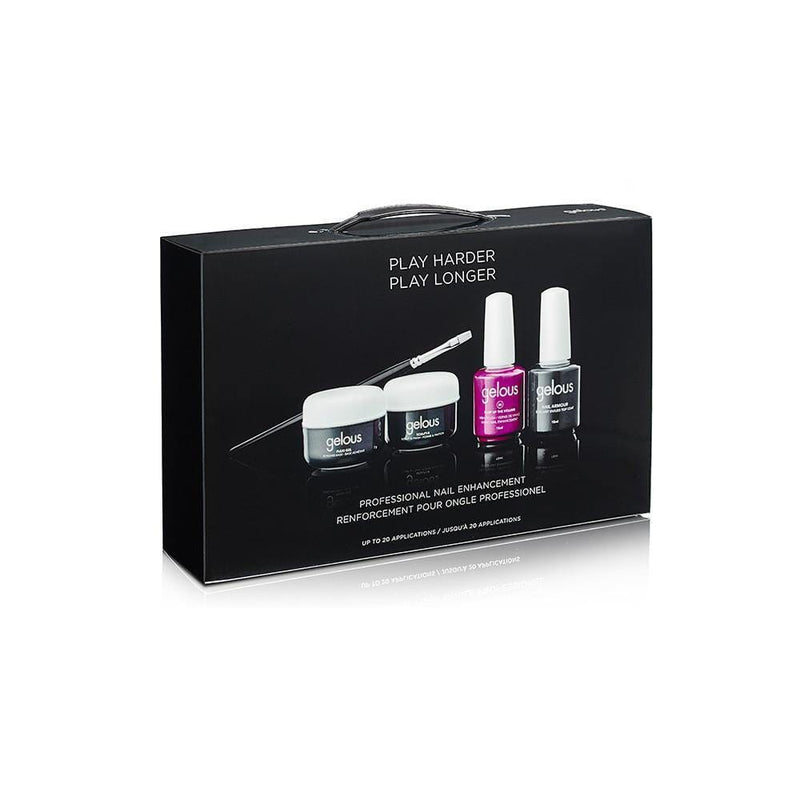 black box Gelous Starter kit for fake nails