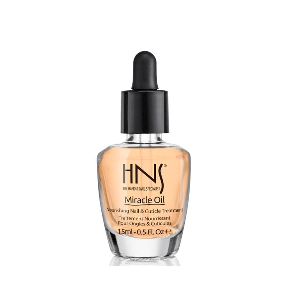 HNS MIRACLE OIL 15ML/.5 OZ - NAILS ETC