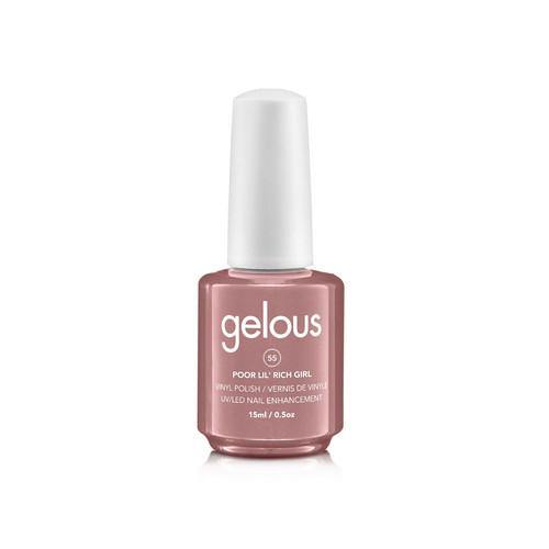 GELOUS VINYL POLISH # 55 POOR LIL' RICH GIRL - NAILS ETC