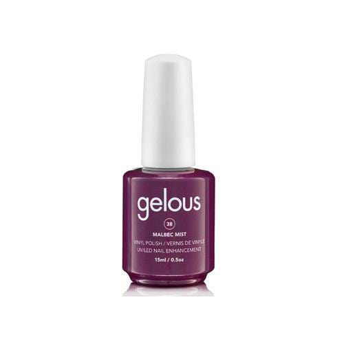 GELOUS VINYL POLISH # 38 MALBEC MIST - NAILS ETC