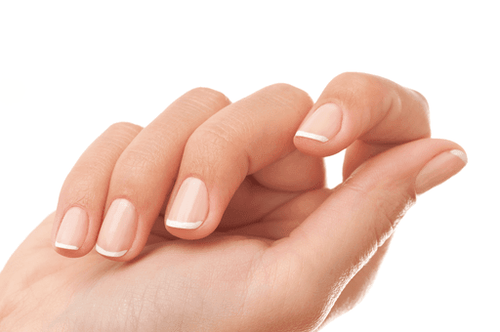 STEP BY STEPS NATURAL NAIL REINFORCEMENT STEPS-FRENCH MANICURE - NAILS ETC