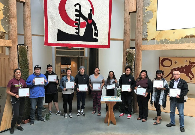 Northern First Nations participate in Archeological Training