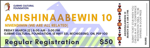 Anishinaabewin 10 - Regular