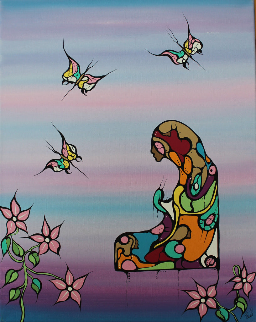 """May Butterfly's Shine Upon Your Soul"" by Peggy McIntyre"