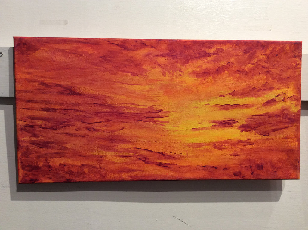 """Sunset"" by Dustin Roy Madahbee"