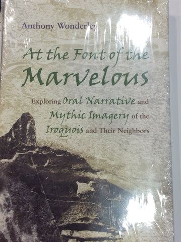 At the Font of the Marvelous by Anthony Wonderley