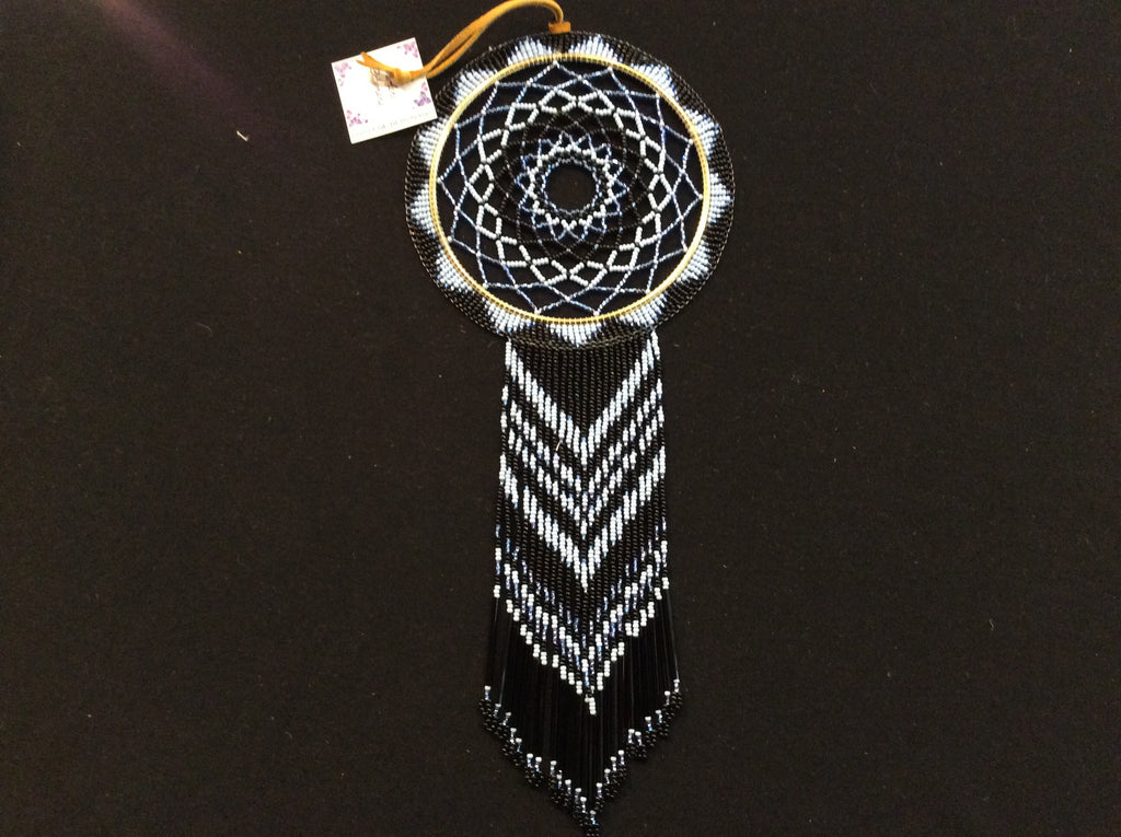"4"" beaded dreamcatcher"