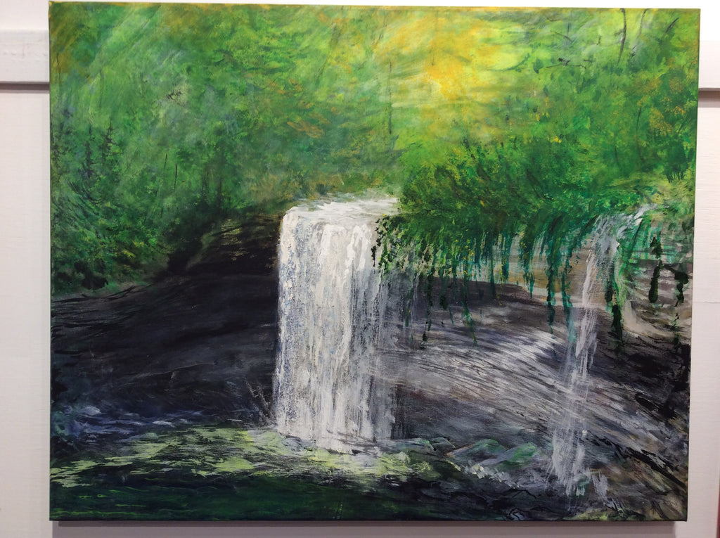 """Bridal Veil Falls"" by Daniel Roy Madahbee"