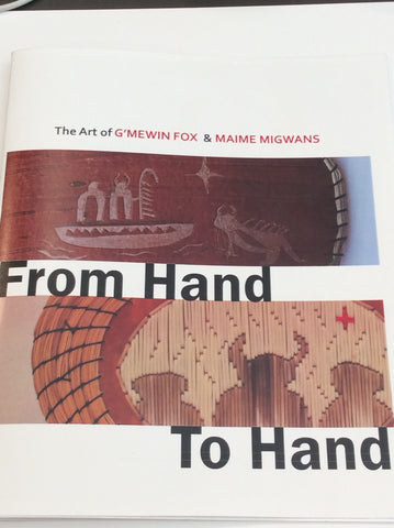 From Hand to Hand by G'mewin Fox & Maine Migwans
