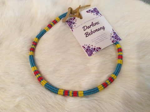 Peyote Stitch Necklace By Darlene Bebonang