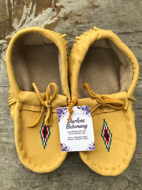 Men's Leather Moccasins size 11