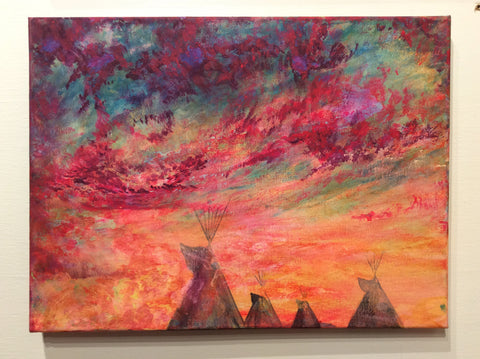 """Teepees Remind Me of Home pt. 2"" Dustin Roy Madahbee"