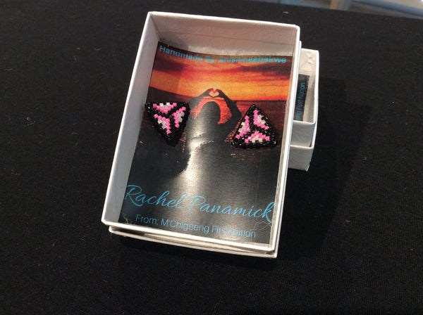 $20 stud earrings by Rachel Panamick