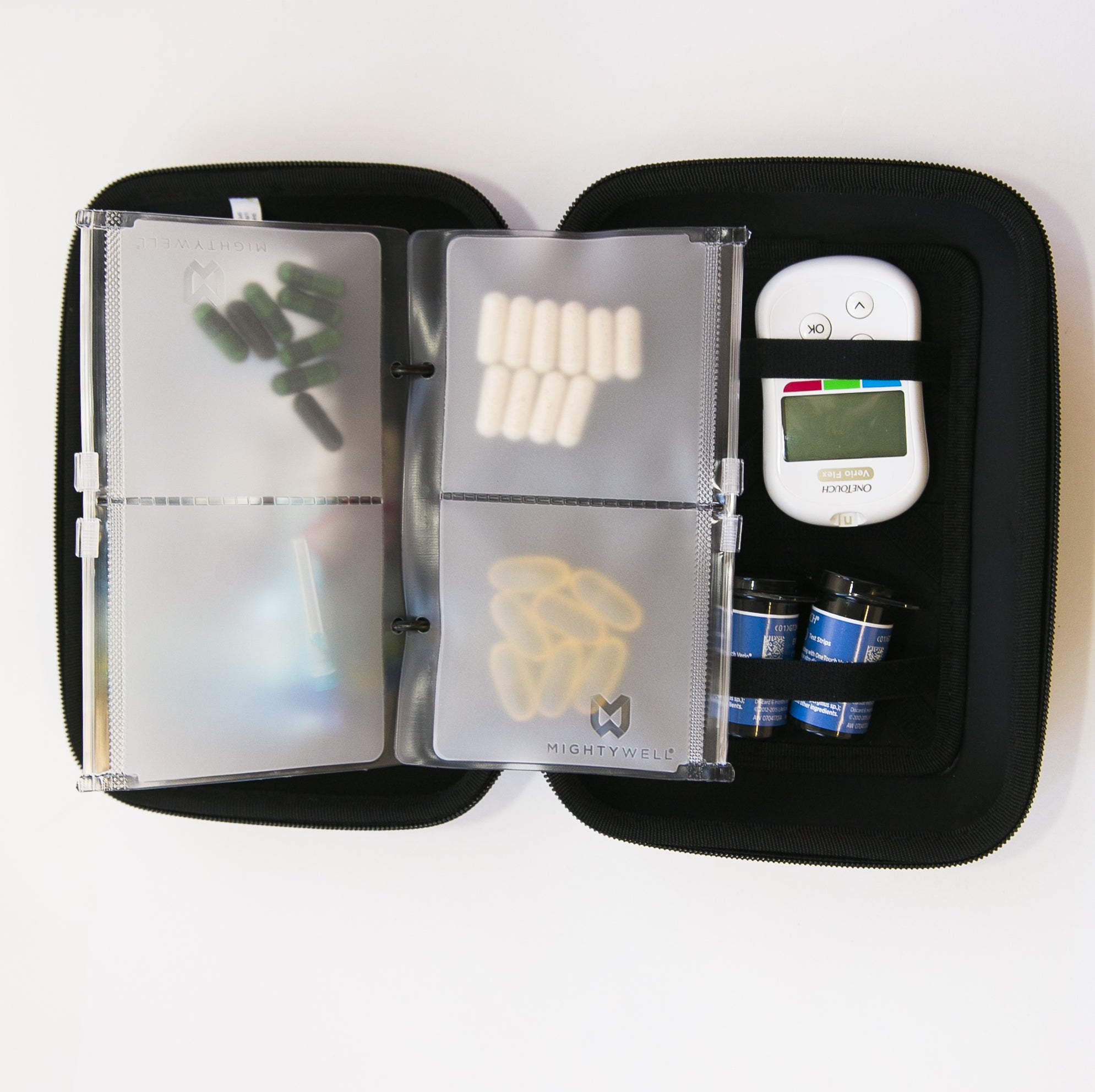MedPlanner 2 Pocket Pouch Refill Pack: AM/PM