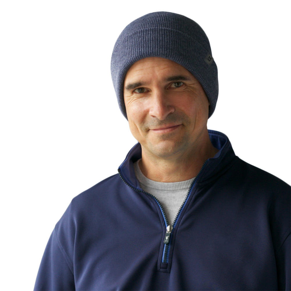 Mighty Well Knot Beanie Indigo