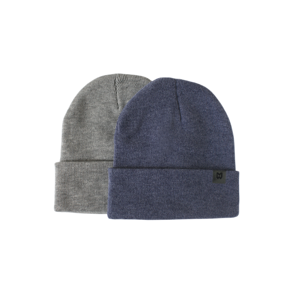 Mighty Well Knit Beanie Indigo and Iron