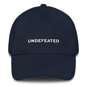Undefeated Baseball Hat – Mighty Well a03d62109c42