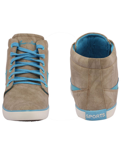 Kraasa 3002 SkyBlue Long Sneakers - TheKraasa