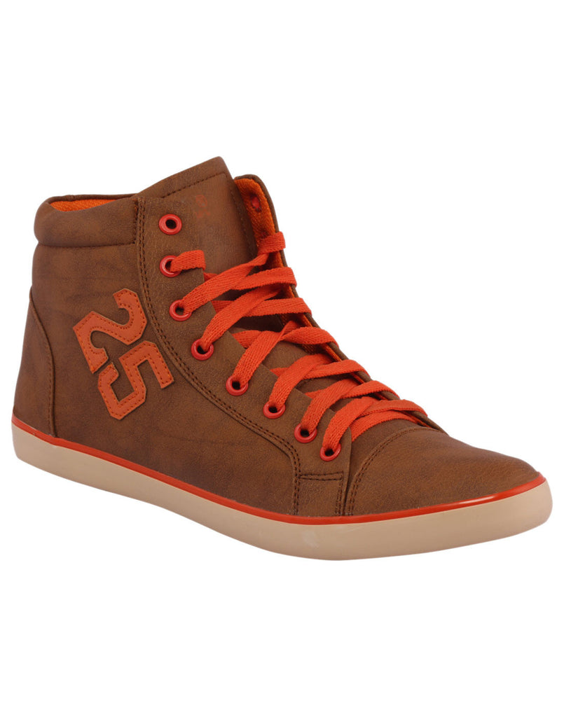 Kraasa 3004 Orange Long Sneakers - TheKraasa