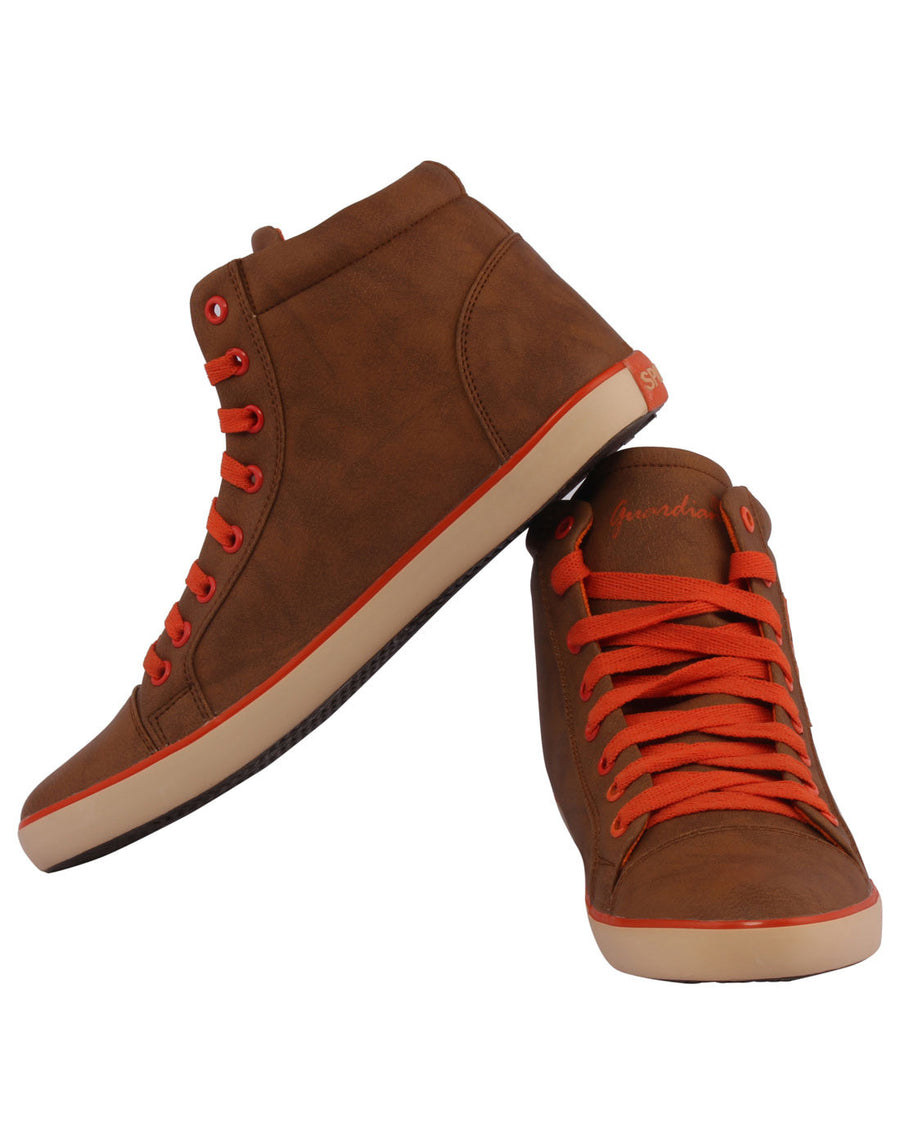 Kraasa 3004 Orange Long Sneakers