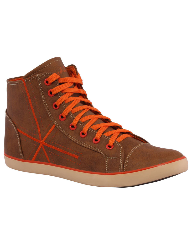 Kraasa 3006 Orange Long Sneakers - TheKraasa