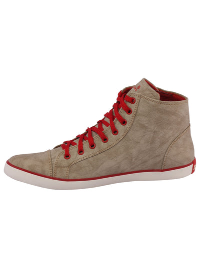 Kraasa 3006 Red Long Sneakers