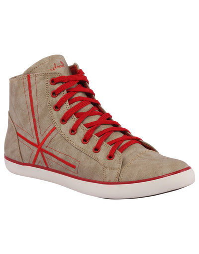 Kraasa 3006 Red Long Sneakers - TheKraasa