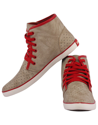 Kraasa 3010 Red Long Sneakers